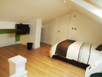 7 Bed house all bills inc, 3 bathrooms, clean luxury house,close to university, city, Tv all rooms,