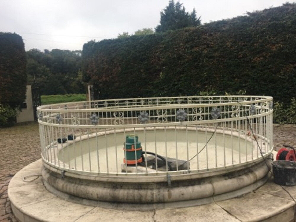 Circular Railings For Fountain. Architectural & Garden