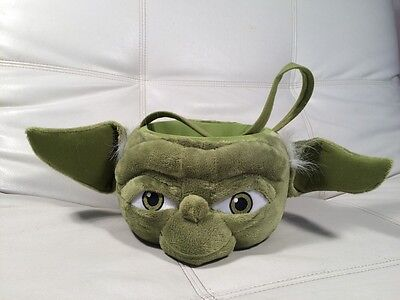 Star Wars Plush Yoda Basket...Halloween/Birthday/Easter/Gift](Halloween Birthday Gift Baskets)