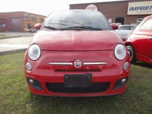 2013 Fiat 500 SPORT PACK,SUN ROOF,MINT CONDITION