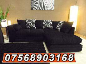 SOFA BOXING DAY BRAND NEW LUXURY CORNER SOFA SET FAST DELIVERY 95477