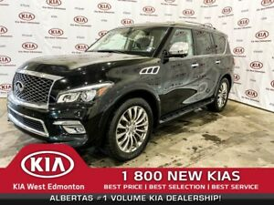 2016 Infiniti QX80 LIMITED |7-PASSENGER |LEATHER| NAVI | SUNROOF