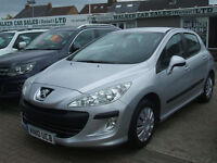 PEUGEOT 308 1.6 s (silver) 2010