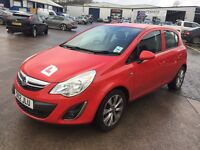 VAUXHALL CORSA ACTIVE AC (red) 2012