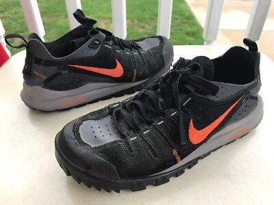 cfe015566bcf3 Nike ACG Athletic Hiking Trail Shoes Suede Leather Men's Size 9.5