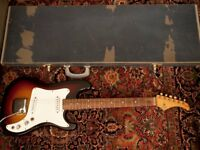 1965 Vox Ace guitar - UK-built (JMI) with original case