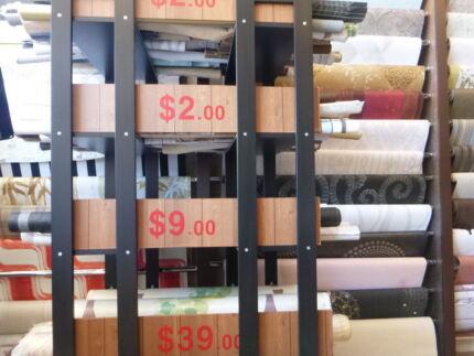 Wallpaper shop - Clearance sale Just $10 per leftover Rolls