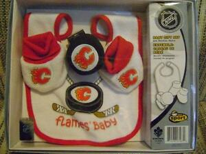 GREAT LITTLE GIFT IDEA FOR THE NEWLY ARRIVED FLAMES HOCKEY FAN