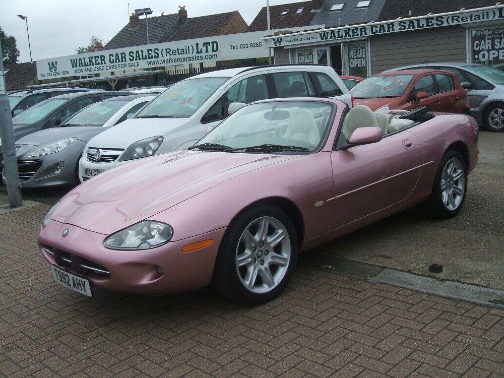 Jaguar Xk8 4 0 Convertible  Pink  1999