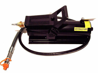 10000 Psi 10 Ton Porta Power Hydraulic Air Foot Pump Control Lift 170psi