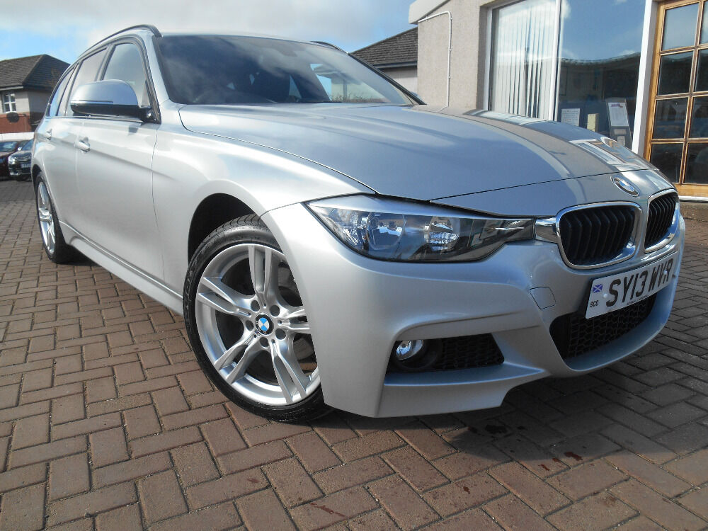 bmw 3 series 320d xdrive m sport touring silver 2013. Black Bedroom Furniture Sets. Home Design Ideas