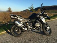BMW R1200GS Triple Black 1170cc, reg. Oct 2015, fsh, extras