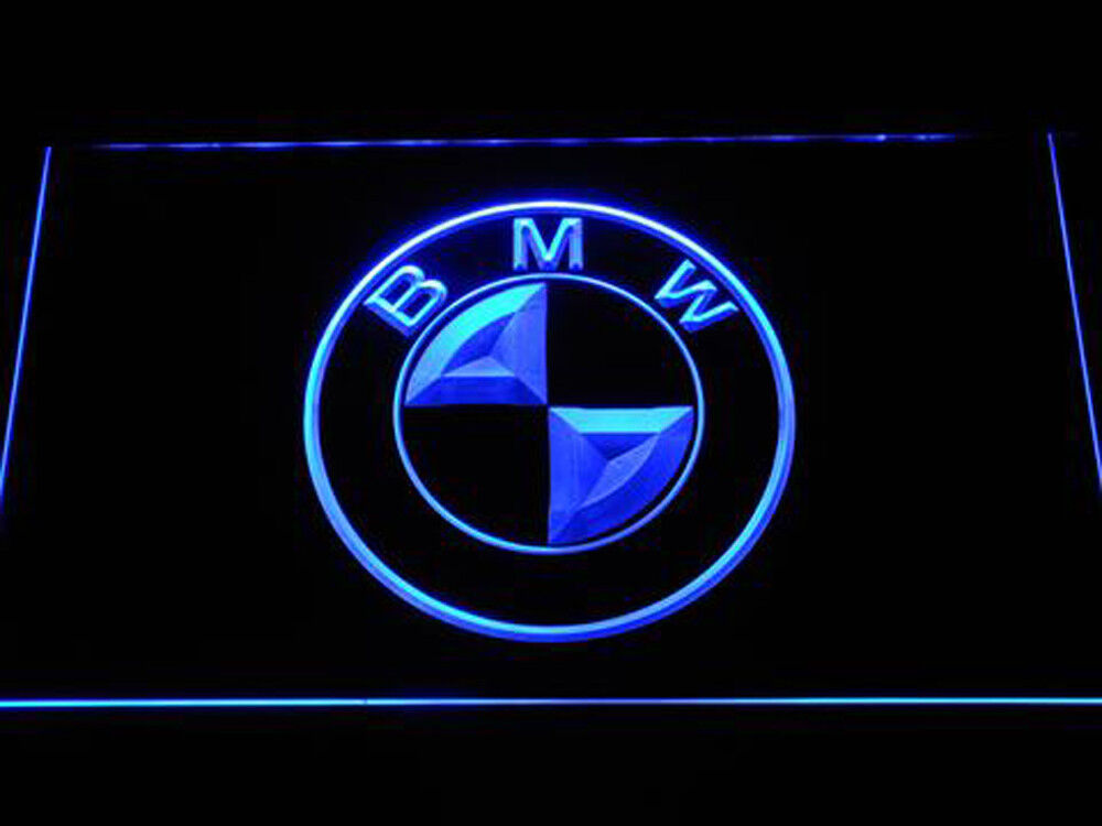 BMW Racing car Led Neon Sign for Game Room,Office,Bar,Man Ca