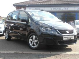 2011 Seat Alhambra S CR TDI Ecomotive 5 Door 7 Seats In Black