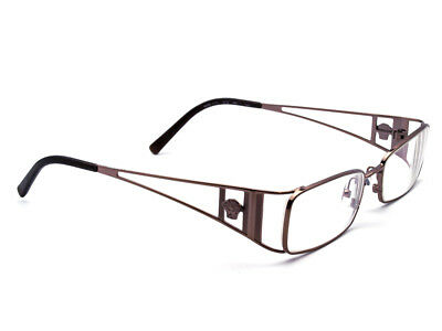 d6a40cedd837 Versace Eyeglasses MOD. 1111 1013 Bronze Rectangular Frame Italy 49  17 135