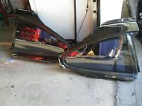 Rear Glass for Pontiac Grand Prix Coupe Pair 97-03 Tinted 2 Door