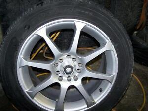 2 Eagle custom 16 inch rims with tires 5 x 100 / 5 x 114.3