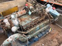 Perkins marine boat engines 6 cylinders x 2 £850