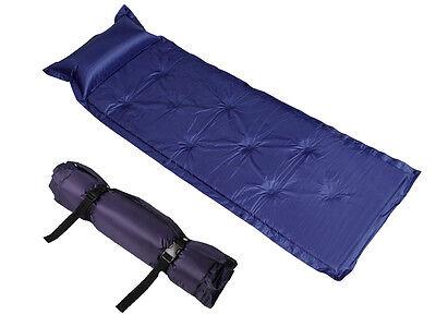 Outdoor Camping Self-Inflating Mattress Pad Pillow Hiking Picnic Sleeping Bed