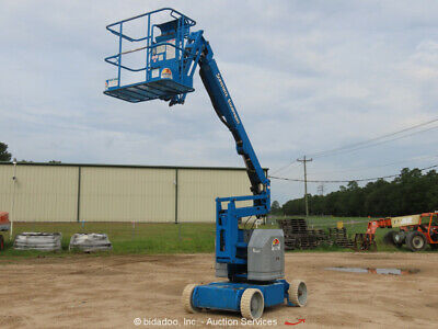 2012 Genie Z3422n 34 6 Electric Articulating Boom Lift Man Aerial Bidadoo