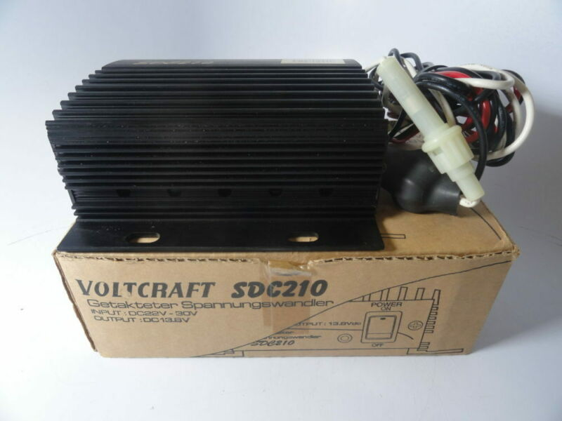 Voltcraft SDC-210 20-30V To 13V Converter - Free US Shipping