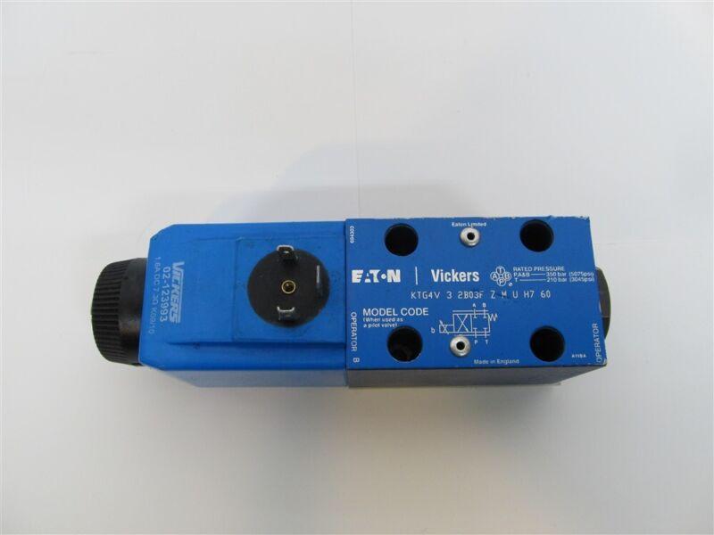 Vickers, 02-123993/KTG4V32B03FZMUH760, Directional Control Valve - Solenoid