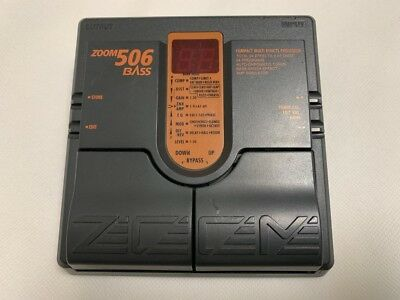 Used! ZOOM 506 Bass Multi Effects Pedal comprar usado  Enviando para Brazil
