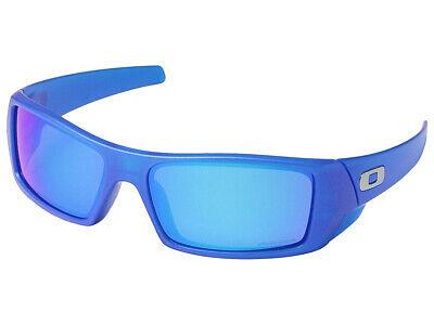 Oakley Gascan Spectrum Sunglasses OO9014-3460 X-Ray Blue/Prizm (Oakley Mens Blue Sunglasses)