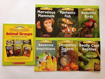Animals Science Childrens Books Leveled Readers Level J-K Teaching Guide