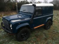 *** Landrover defender 90 galvanised chassis swap px car van ****