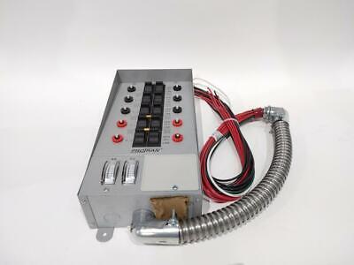 Reliance Controls 31410crk 10-circuit 30 Amp Generator Switch Kitgray Ob