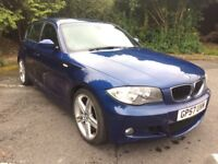 BMW 1 SERIES 120D M SPORT (blue) 2007