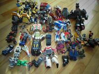 Well Over 30 Transformers Toys