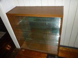 Glass display cabinet good condition Brisbane City Brisbane North West Preview