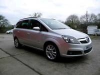 Vauxhall Zaffira 1.9 Diesel Full MOT 7 seater sat nav. With Gearbox upgrade.