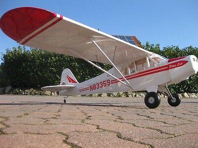 RC 2547mm Scale 1:4 PIPER SUPER CUB CUP mit Landeklappen 1/4 Flugmodell J3 ARF