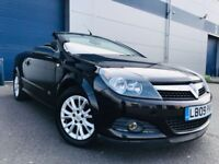 2009 Vauxhall Astra 1.8 i Sport Twin Top 2dr Petrol Manual (138 bhp) + F/S/H convertible cabriolet