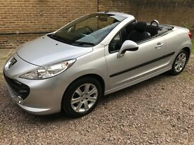 PEUGEOT 207 SPORT COUPE CABRIOLET HDI (silver) 2008