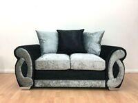 FABRIC/CRUSH VELVET CHEAPEST PRICE*CLIO SOFA* LUXURY SOFA 3+2/Corner sofa 1845