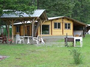 Jackpine Farm, RV Sites & Cabin Rental near Lake Koocanusa BC