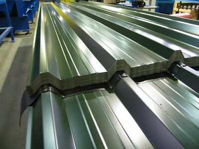 Yard Stock 10ft 0.5mm Polyester Coated Metal Box Profile Roofing Sheets 32/1000