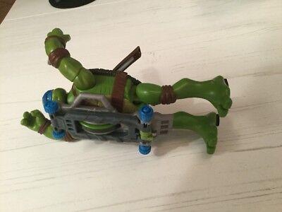 Skateboard Teenage Mutant Ninja Turtles Figur 14cm groß (Nickelodeon Teenage Mutant Ninja Turtles Leonardo)