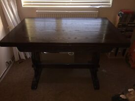 Must go as moving!! Antique Dinning room table
