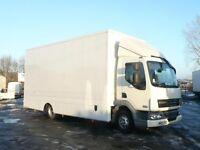 Van Hire - Large furniture van with driver - LA1 Removal Van Hire