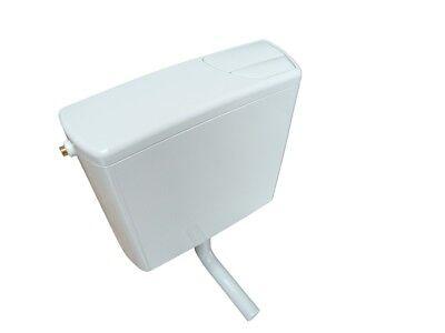 Geberit WC Aufputzspülkasten AP 140 tiefhängend mit 2-Mengen-Spülung weiß