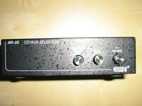 AUDIO selector 1 out / 3 in   for sale