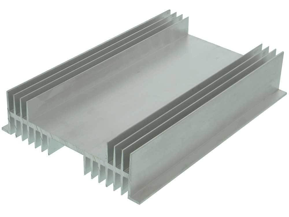 "10"" X 7"" X 2""  Flanged Aluminum Heat Sink     *33305 HK"