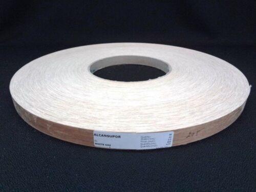 Veneer Edge White Oak Weißeiche Lipping 16 5/12ft Long 0 7/8in Wide / 0 1/32in