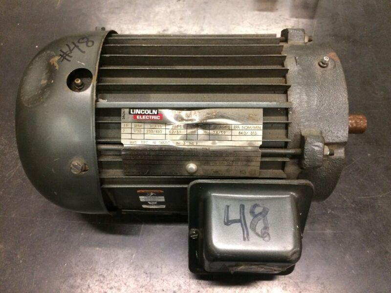 NEW Lincoln Electric Motor 2 HP 230/460V 1730RPM 145TC AF4P2TC61 USA