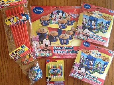 Micky Mouse Decorations (Disney Micky Mouse Clubhouse Party Supply Pack-Cupcake)